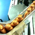 conveyor-chain-is-built-of-stainless-steel-for-beverage-industry
